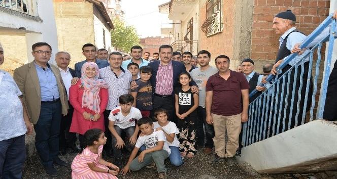 Bakan Tüfenkci, Beydağlıların sorunları için devrede