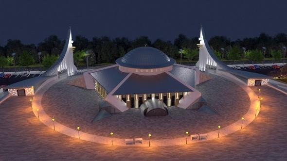 Türkiye'nin ilk 'Ayyıldızlı Camisi' Sivas'a yapılıyor