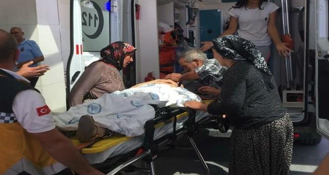 Karaman'da kontrolden çıkan otomobil takla attı: 6 yaralı