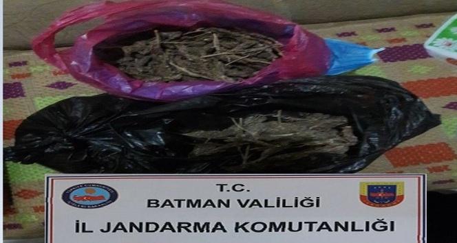 Bismil'de 1 kilo 874 gram esrar ele geçirildi