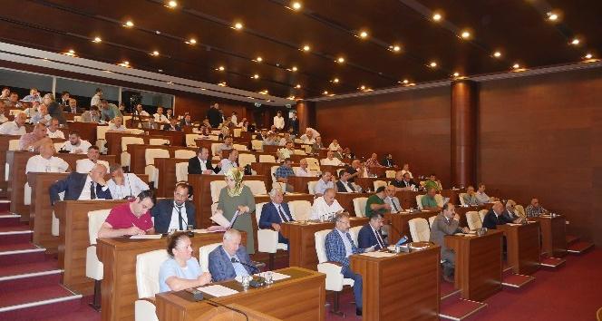 Trabzon Büyükşehir Belediye Meclisi Eylül ayı oturumları başladı
