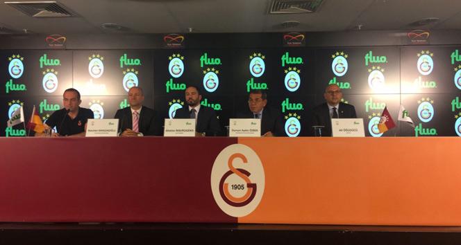 Galasaray, Fluo ile sponsorluk anlaşması imzaladı