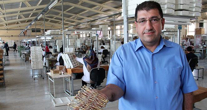 Babasının küçük dükkanından, 430 bin adet üretim yapan fabrikaya