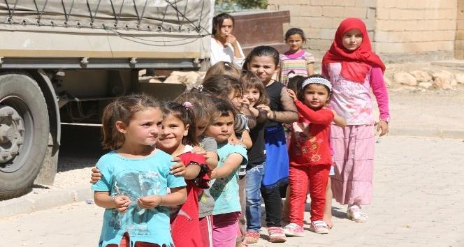 Mardin Belediyesi 700 çocuğun saçını kestirdi