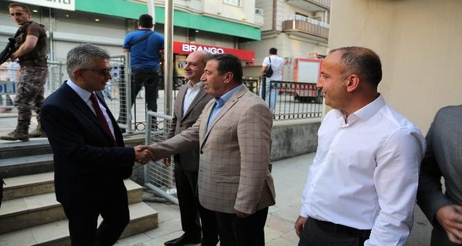 Kaymakam ve belediye başkanı Arıcan birim müdürleriyle toplantı yaptı