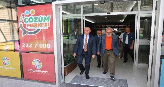 Mustafa Elitaş Kocasinan Belediyesi'nde