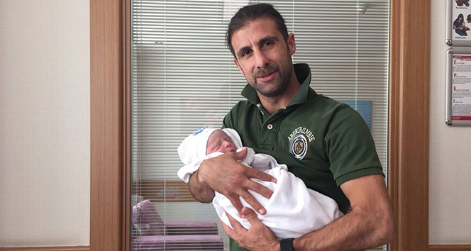 Elazığspor'un kaptanı ikinci kez baba oldu