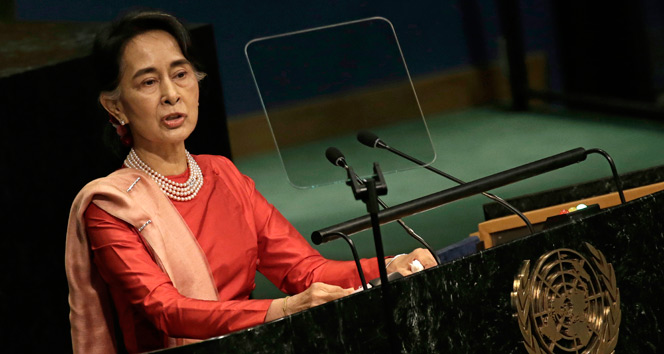 Zulme göz yuman Myanmar lideri BM Genel Kuruluna katılmayacak