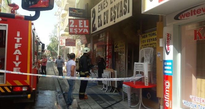 Malatya'da işyeri yangını korkuttu