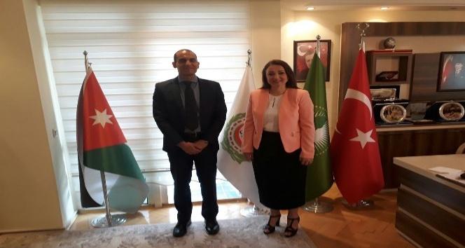 Mısır Büyükelçiliğinden SANKON'a ziyaret