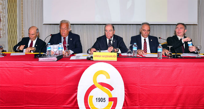 Galatasarayın Eylül ayı divan kurulu başladı