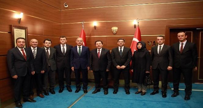 SASKİ Genel Müdürü Keleş'ten, Vali Balkanlıoğlu'na ziyaret