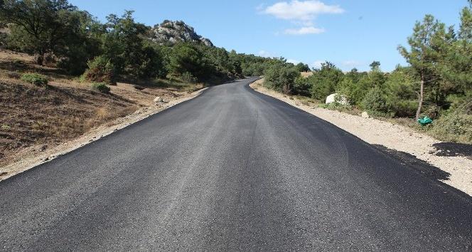 Pamukova'ya 31 bin ton sıcak asfalt
