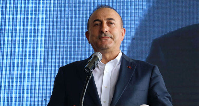 Bakan Çavuşoğlu: Bu teröristleri sınırımızda temizlemezsek, yarın Türkiyenin başına bela olur