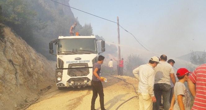 Kastamonu'da çıkan orman yangını 24 saatte kontrol altına alındı