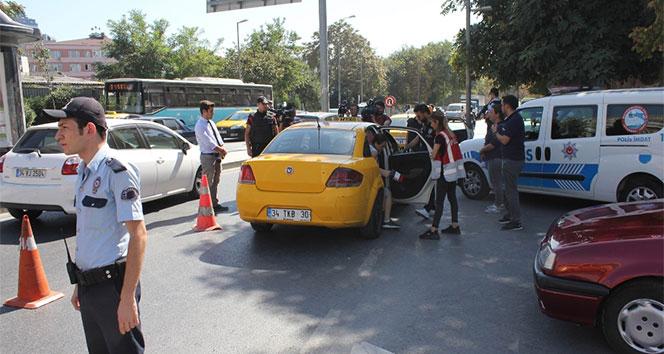İstanbul'da taksi ve minibüsler denetlendi