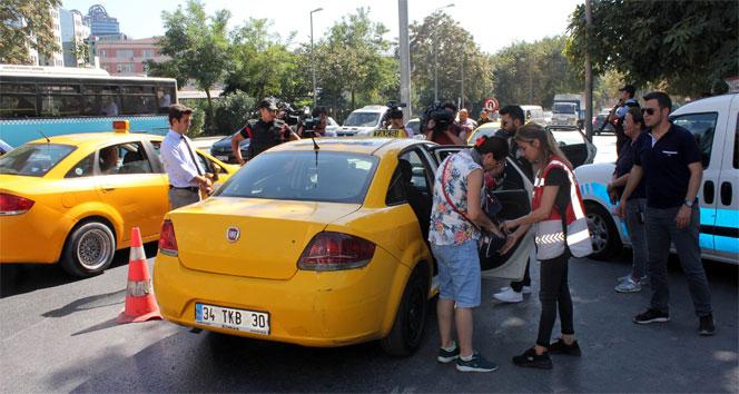 İstanbulda ticari taksi ve yolcu minibüslerine uygulama