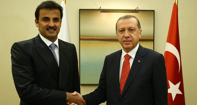 Katar Emiri Al Sani yarın Türkiyede