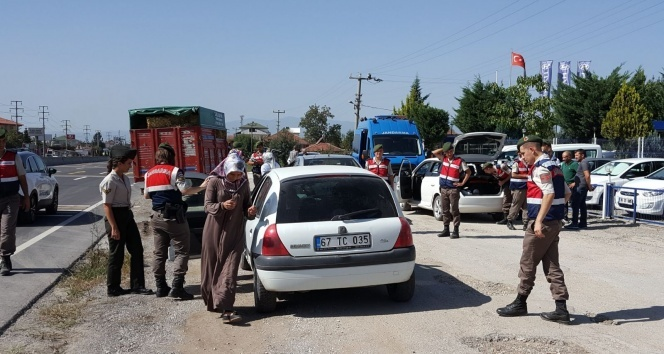 Jandarmadan geniş çaplı denetim| Jandarma ceza yağdırdı