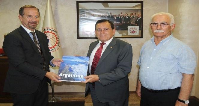 Arjantin'den Trabzon'a ticaret köprüsü kurulacak