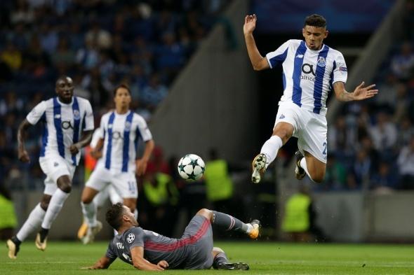 Porto Beşiktaş maçından özel kareler