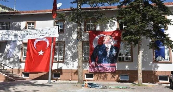 Kızılcahamam'da üniversite heyecanı