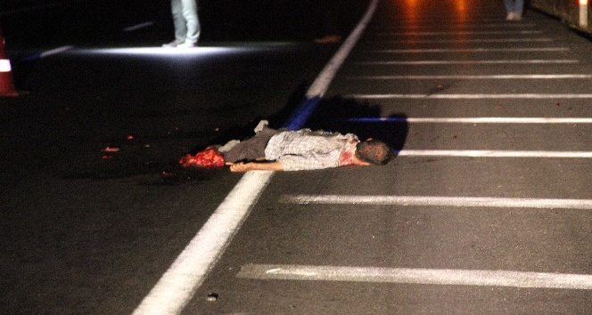 Bacakları parçalanmış erkek cesedi bulundu