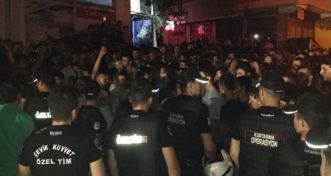 Suriyelilerle çıkan kavganın ardından vatandaşlar sokağa döküldü