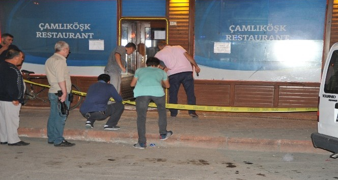 Hesap vermeyen müşteri, mekan sahibini vurdu
