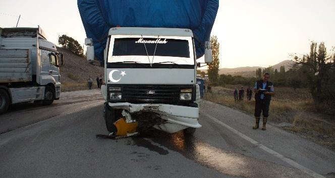Ankara'da trafik kazası: 1ölü, 1 yaralı