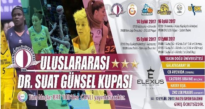 Dr. Suat Günsel Kadın Basketbol Turnuvası başlıyor
