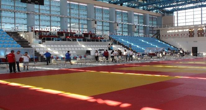 Karaman'da Türkiye Judo Şampiyonası için hazırlıklar tamamlandı