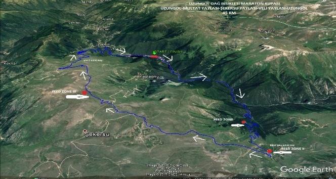 Uzungöl dağlarında 1 Ekim'de Dağ ve Yol Bisikleti Yarışları yapılacak