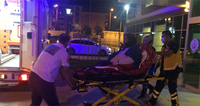 Konya'da 173 kiloluk obezite hastasına özel ambulans