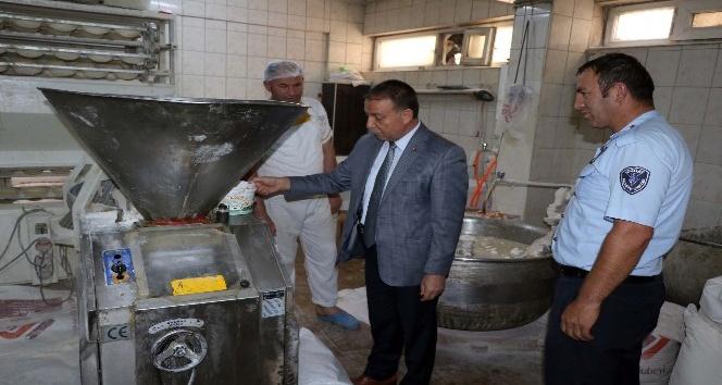 Yozgat'ta zabıta ekipleri fırın denetimi yaptı