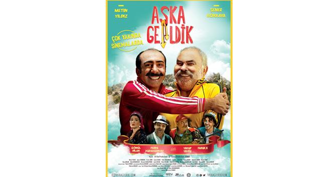 Azerbaycan Türkiye ortak yapımı Aşka Geldik filmi vizyona giriyor