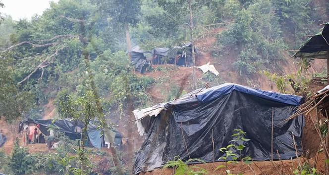 Arakan bölgesinde 471 ilçeden 176sı insansız kaldı