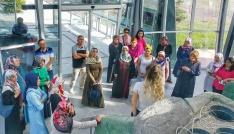 Tokatlı kadın girişimciler Yalovayı gezdi