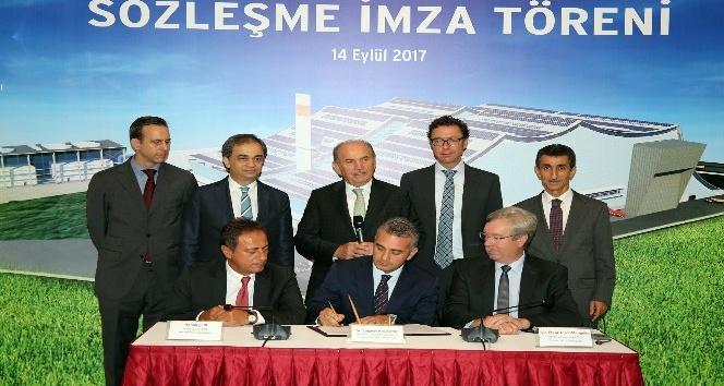 1,5 milyon kişinin elektrik ihtiyacını karşılaması planlanan projede imzalar atıldı
