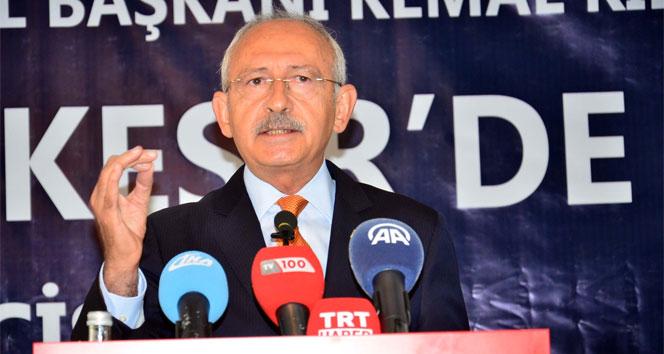 CHP Genel Başkanı Kılıçdaroğlu: '4 yılda terörü bitireceğim'
