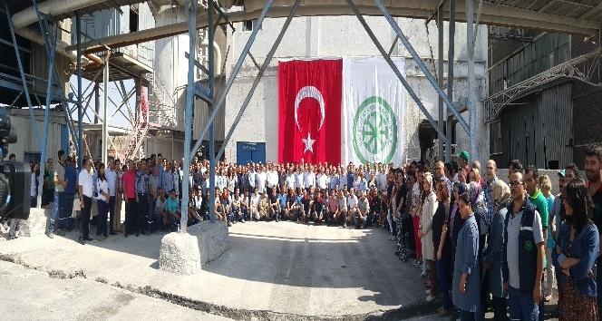 Kayseri Şeker Fabrikası kireç ocağı 63. kez ateşlendi