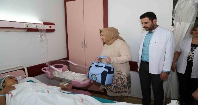 'Hoş Geldin Bebek Projesi'nden 6 ayda 12 bin 472 anne faydalandı