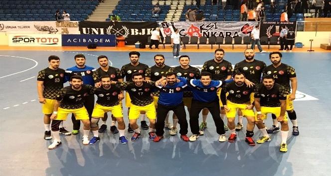 Hentbolda Süper Kupa Beşiktaş Mogaz'ın