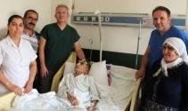 110 yaşındaki hastaya kalça kırığı ameliyatı yapıldı
