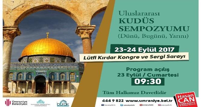 Uluslararası sempozyumla İstanbul'da Kudüs konuşulacak