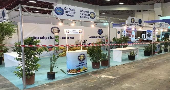 Ödemiş'in doğal ürünleri Antalya'da görücüye çıktı