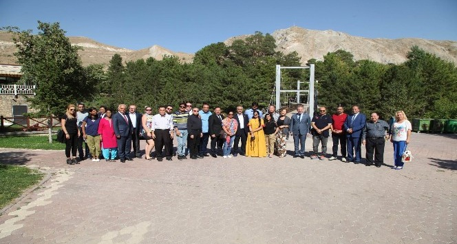 Yabancı turist kafilesi Sivas'a hayran kaldı