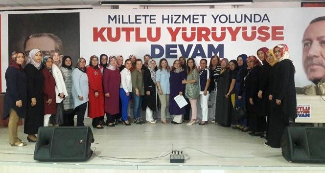 AK Parti Korkuteli İlçe Kadın Kolları 5'inci Genel Kurulu