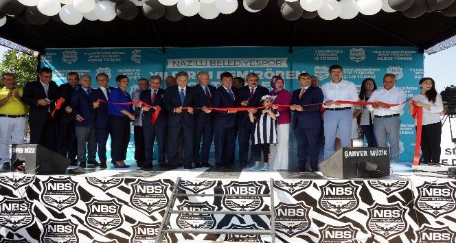 Nazilli Yıldırım Demirören Spor Tesisleri törenle hizmete açıldı