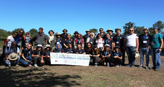 Kızılırmak Deltası Doğa Okulu 8. Dönem mezunlarını verdi